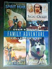 Spirit Bear, Sign of the Otter, Spirit of the Eagle, White Fang - Family DVD Set