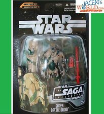 SUPER BATTLE DROID #61 KASHYYYK ACTION FIGURE STAR WARS SAGA COLLECTION FIGURES