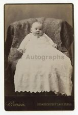 19th Century Children - 19th Century Cabinet Card Photograph - Chelsea, MA