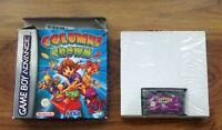 Columns Crown Nintendo Gameboy Advance GBA Sega . Free UK Postage