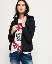 New Womens Superdry Vintage Fuji Jacket Navy