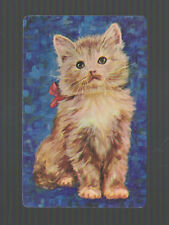Playing Swap Cards 1   VINT  CUTE  GINGER   KITTEN   CAT  W581  SO CUTE