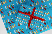 Rude Wrapping Paper 14 Queen Of The F***ing World Christmas Birthday Gift Wrap