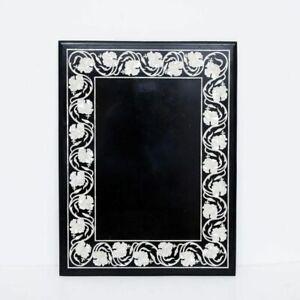 "48"" x 30"" Marble Table Work Inlay Handmade Home Decor"