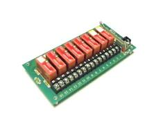 GORDOS  PB-8H   8-CHANNEL SOLID STATE RELAY MODULE W/RELAYS