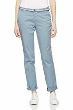£55 Esprit Slim Fit Cotton Coloured Chino Trousers Navy Beige Pink Blue Green