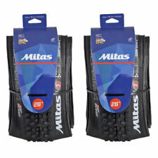 Pair of Mitas Tubeless Mountain Bike Tyres 26 x 2.25 Inch MTB