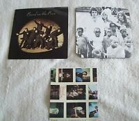 PAUL McCARTNEY & WINGS *BAND ON THE RUN* LP UK 1ST PRESS! COMPLETE!