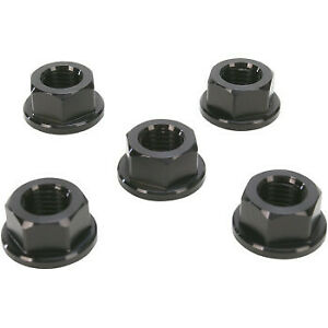 Driven Racing Sprocket Nut Aluminum 10x1.0 Black DSN6BK