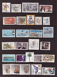 Germany 1988 used stamps selection