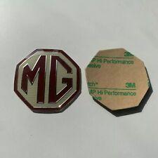 OEM FRONT/ REAR MG Car Badge Fits MG ZR ZS ZT MGF INSERT MGZR MGZS