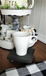 Mini Rustic Riser Pedestal, Rustic Coaster, Riser Display, Farmhouse Decor