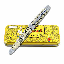 """Archived Simpsons """"Homer Scream"""" Limited Edition Roller Ball Pen NEW"""