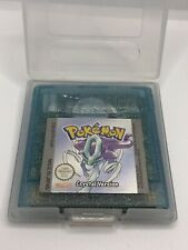 Pokémon: Crystal Edition (Nintendo Game Boy Color, 2001) Top Zustand! Original!