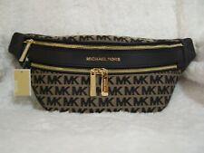 Michael Kors Kenly Medium Waist Pack Crossbody (Black/Beige) - NWT