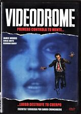 David Cronenberg: VIDEODROME. Tarifa plana en envío dvd España, 5 €.