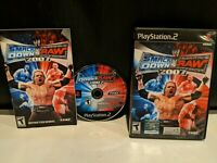 WWE SmackDown vs. Raw 2007 (Sony PlayStation 2, 2006) complete in box cib