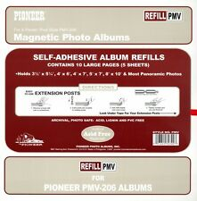 "6 Pioneer Photo Album Refill Packs PMV up to 8""x10"" for PMV-206"