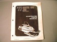 1977 Vintage Arctic Cat Jag Parts Manual