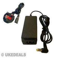 40w Adaptador Cargador Para Acer Aspire One Aod270 521 Ao533 751 + plomo cable de alimentación