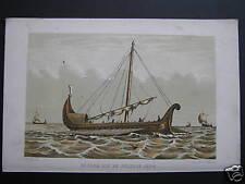 steendruk lithography Kieler boot 9e eeuw Nederland