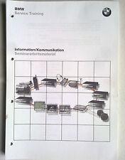 BMW Service Training Information/Kommunikation Radi-Audio-CD-TV E65 MOST-Bus WAP
