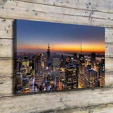 New York Skyline HD Canvas Print Home Decor Room Wall Art Pictures Posters
