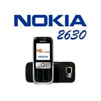 TELEFONO CELLULARE NOKIA 2630 NERO GSM FOTOCAMERA BLUETOOTH RICONDIZIONATO-