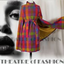 VINTAGE CAPE COAT 40s 50s RARE IRISH TWEED S M L XL CELTIC BOHO FASHIONISTA VAMP