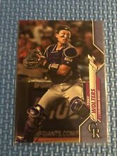 2020 Topps Series 2 Base Father's Day Blue #387 Tony Wolters /50