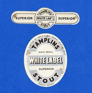 TAMPLIN  &  SONS  BREWERY.  BRIGHTON. GOLD  MEDAL  WHITE  LABEL  SUPERIOR  STOUT