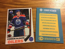 Custom Connor McDavid 1969-70 OPC Style RC High Quality card only 97 made!