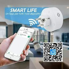 Presa WIFI Intelligente SMART PLUG Timer Alexa Google Home IOS Android