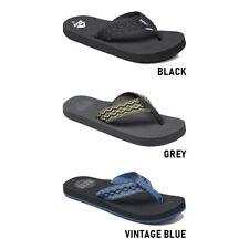 Infradito Uomo Reef Fanning Grey//Black