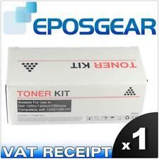 Dell 1250 1250c 1335cn 1350 High Capacity Yield Black Toner Cartridge Kit