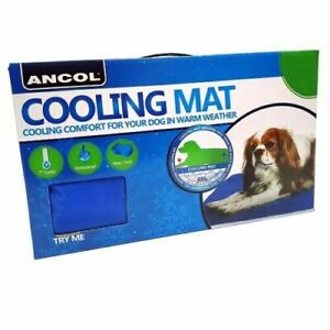 Ancol Dog Cooling Mat Reduce Temperature of Pet / Pad to Lower Heat