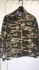 Columbia Youth Camo Fleece Jacket Size 14 / 16