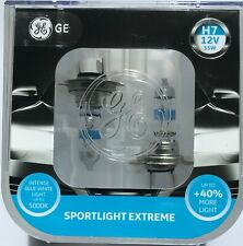 GE SPORTLIGHT EXTREME H7 INTENSE BLUE WHITE LIGHT 5000k twin pack