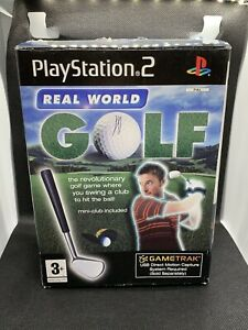 Sony PlayStation 2 Real World Golf Stick Motion Capture - Very Good Condition