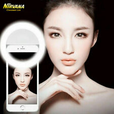 LED Phone Selfie Ring Light Flashlight Camera Photography Universal For Phones