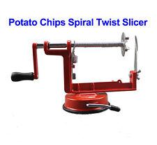 Manual Stainless Steel Potato Chip Spiral Twist Slicer Vegetable Cutter