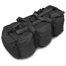 Large Tactical Military Police Travel Kit Gear Equipment Bag Holdall 100L Black