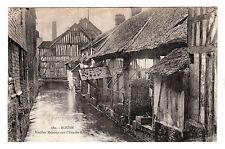 Vieilles Maisons Sur L'Eau De Robec - Rouen Photo Postcard c1910