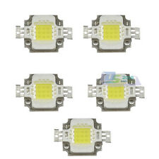 5Pcs 10W Superbright 900-950LM LED 30Mil Chip Light Lamp SMD DC9-12V Bulb Bead