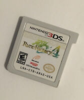 Rune Factory 4 Nintendo 3DS Cartridge Only(Tested)
