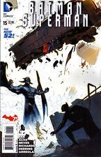 BATMAN SUPERMAN #15 - New 52 - VARIANT COVER 1:25