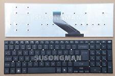 New Keyboard UK For Gateway NV52L02H NV52L03H NV57H46U NV55S Black No Frame