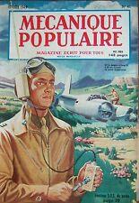 REVUE MECANIQUE POPULAIRE N° 041 ATOME AVIONS DE CHASSE FUSEE PHARE AUTO 1949