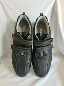 Hotter Mens Energise Black Leather Shoes Size 12 STD New and Boxed