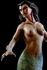 mermaid statue the body found rare resin painted model kit original